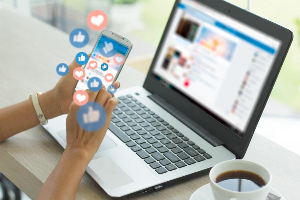 Online aanwezigheid via social media